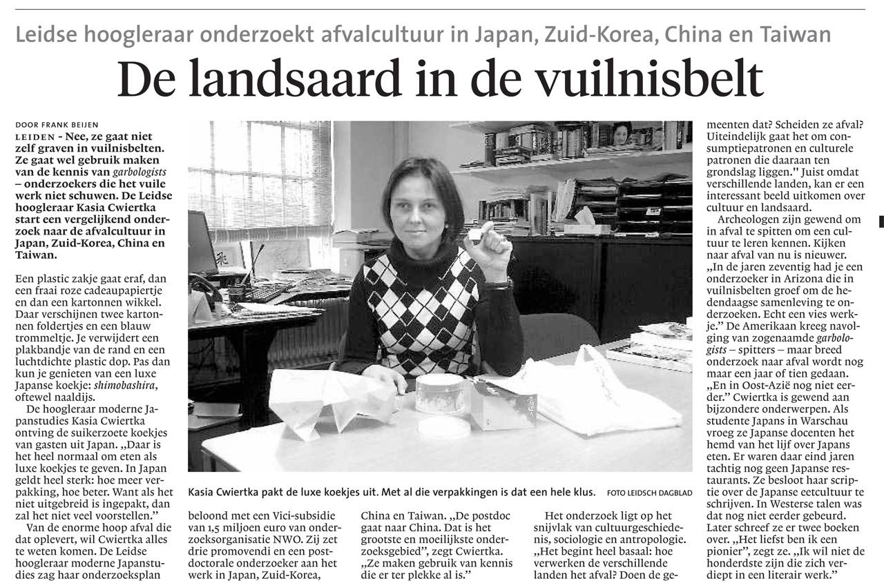 Leidsch Dagblad, February 2013